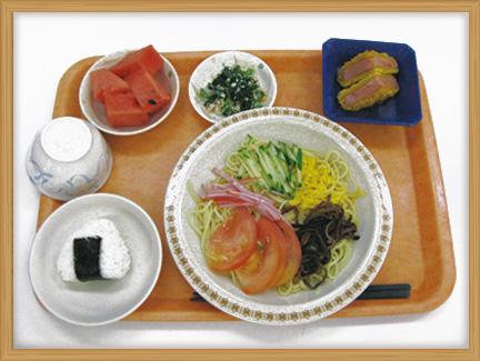 特別食(減塩、油抜き、低カロリー)